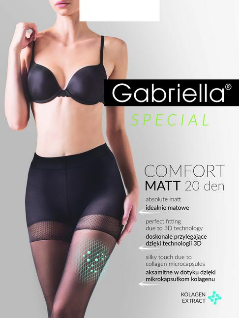 Gabriella Rajstopy 20dn Comfort Matt