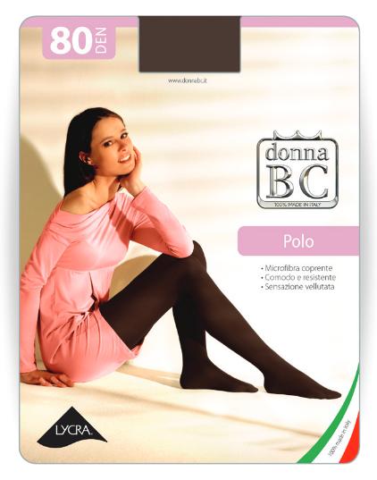 Donna BC Rajstopy Mikrofibra Polo 80dn