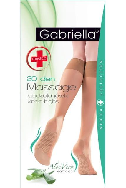 Gabriella Podkolanówki 20dn Massage