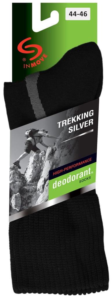 JJW Skarpety Trekking Deodorant Silver