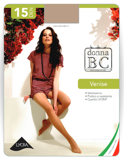 Donna BC Rajstopy Venise 15dn