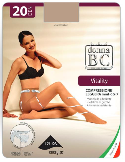Donna BC Rajstopy Vitality 20dn